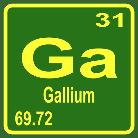 tabla peridica de los elementos galio - Tabla Periodica De Los Elementos Galio