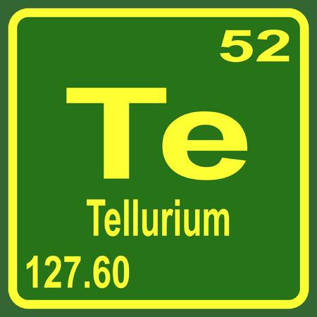 Tabla peridica de los elementos telurio ilustraciones vectoriales 53901717 pedic tabla de los elementos telurio urtaz Gallery