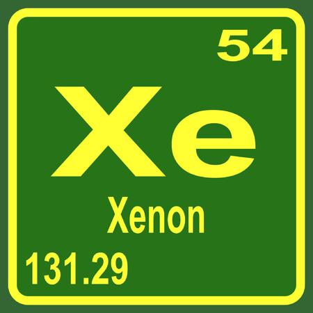 Tabla peridica de los elementos europio ilustraciones vectoriales tabla peridica de los elementos xenon urtaz Image collections