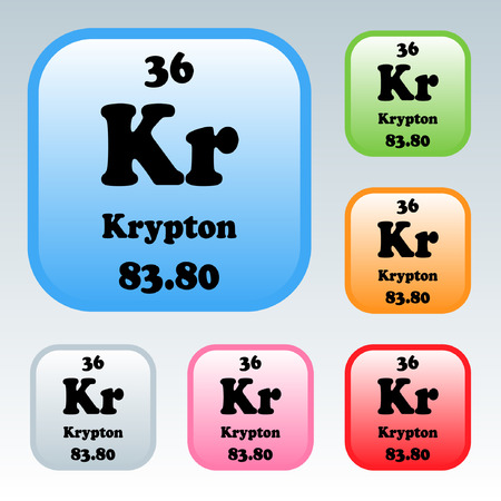 The Periodic Table of the Elements Krypton