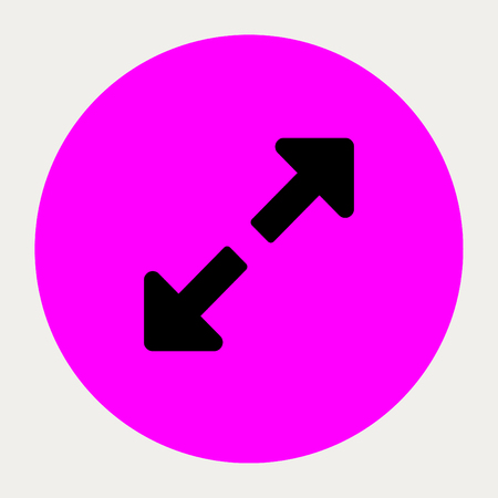 expand: Expand navigation button.Vector illustration.
