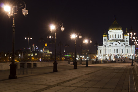 devout: Cathedral the Cathedral of Christ the Savior in Moscow