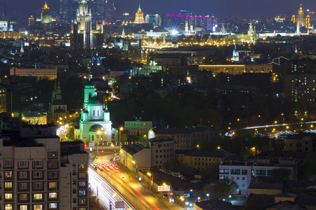 landscape Moscow city Moscow Russia