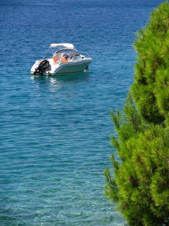 adriatic: Modern speed boat