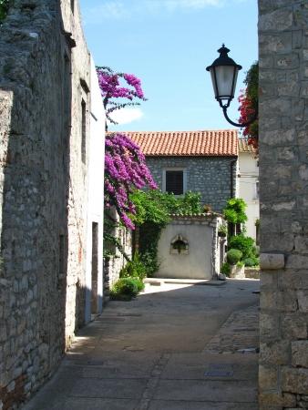Picturesque Mediterranean village Osor, Croatia photo