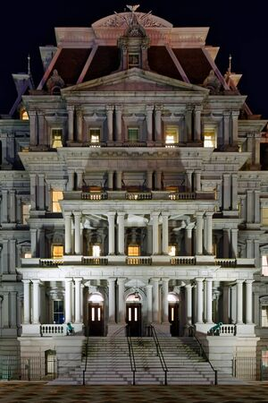 The Eisenhower Executive Office Building, federal government building occupied by the Executive Office of the President in Washington D.C.