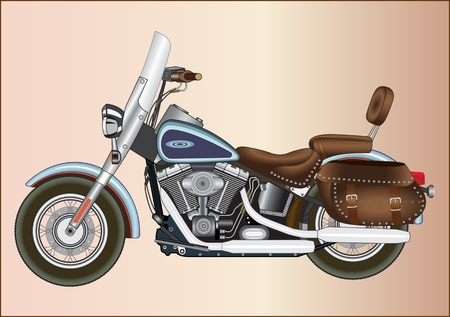Motorcycle with an internal combustion engine