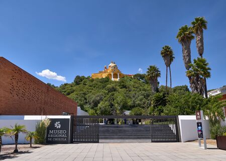 Shrine of Our Lady of Remedies sanctuary and Regional Museum of Cholula