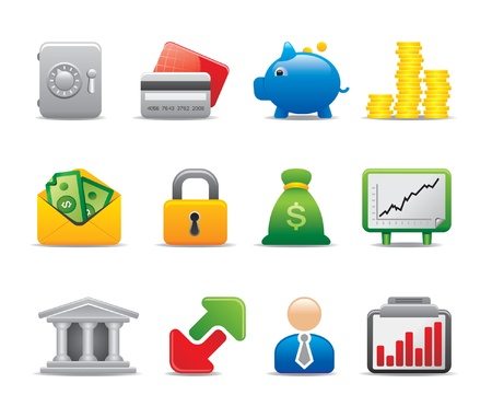 cash icon: business icons Illustration