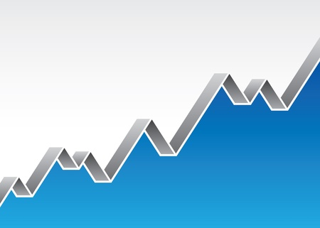 stock market chart: stock market