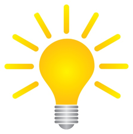 idea light bulb: bulb Illustration