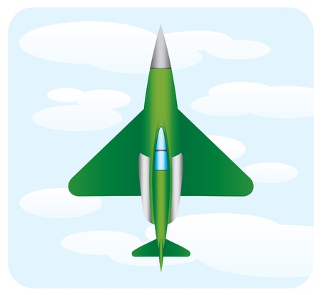 mid air: verde avi�n de guerra