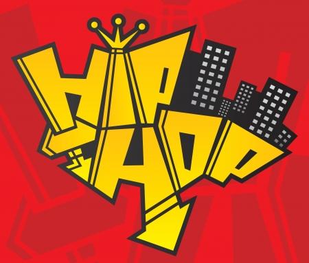 urban grunge: hip hop Illustration