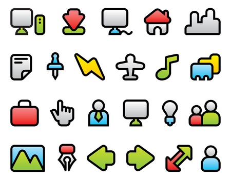 icons Stock Vector - 20369880