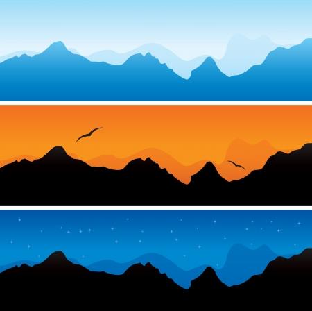 snowcapped mountain: mountains