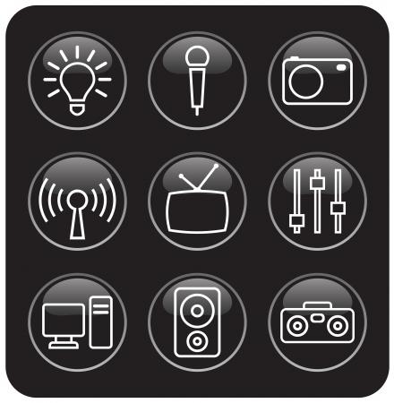 multimedia pictogram: multimedia pictogram