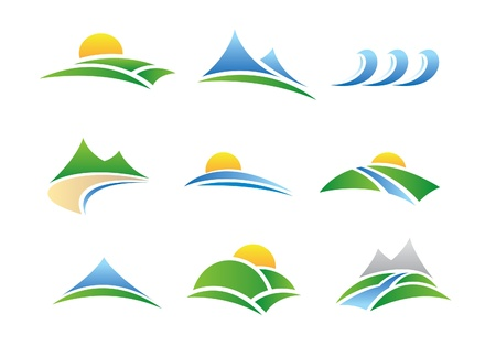 natuur pictogrammen