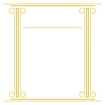 roman column: Frame Illustration