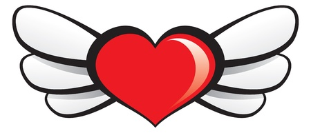 red winged: Winged Heart