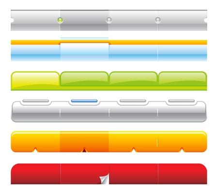 web navigation templates 04