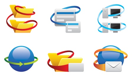 wireles: communication icons