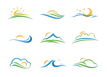 Landscape  icon Stock Vector - 20846716