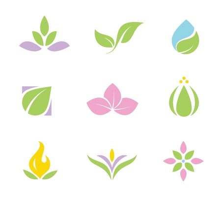 Spa set of  icons  Vector