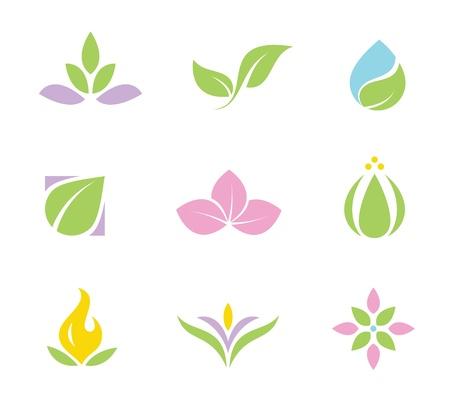 harmony idea: Spa set of  icons