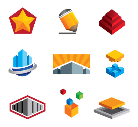 Cajas de Creative construcci�n rompecabezas de peque�o a grande de bienes ra�ces