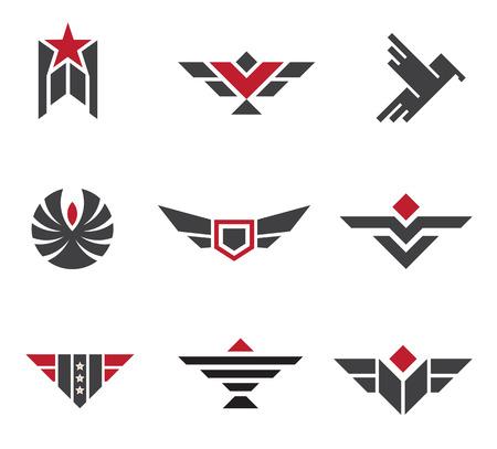 estrellas  de militares: Insignias del Ejército y militares y símbolos de resistencia
