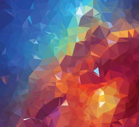 Background modern texture triangle geometry colorful galaxy painting Vector