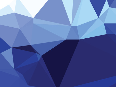 royal blue background: Background abstract triangle geometry pattern royal blue crystal Illustration