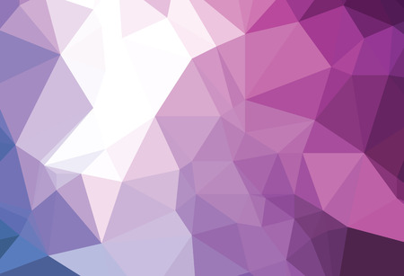 sensation: Background abstract triangle geometry pattern purple sensation Illustration