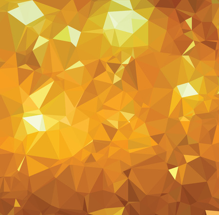 gold colour: Background abstract triangle geometry pattern gold royal page Illustration
