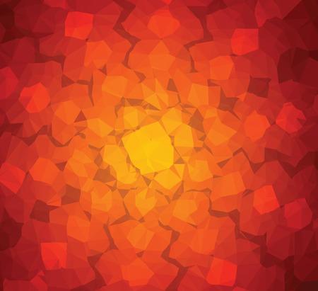 flower art: Sfondo geometria del triangolo astratto motivo floreale stella arte