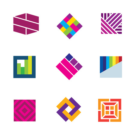 etre diff�rent: L'art abstrait symbole template �tre diff�rent ic�ne d�coration