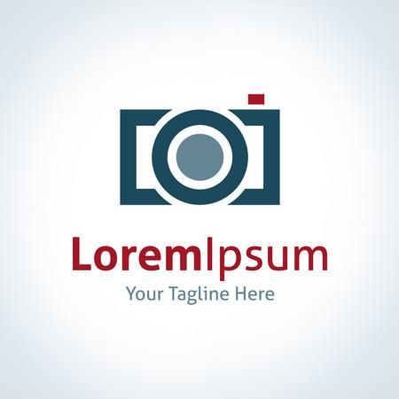 photography icon: Photography professional company lens brand logo icon