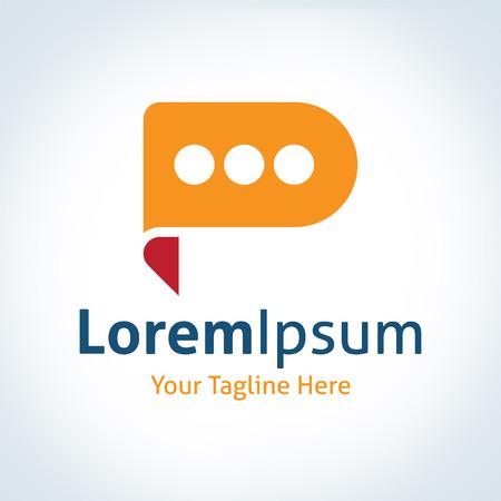 discussion forum: Discussion future leader forum bubble talking vector logo icon