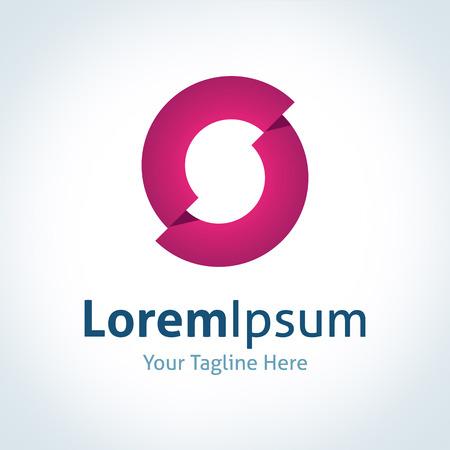 guru: Guru innovation futuristic abstract broken circle vector logo icon