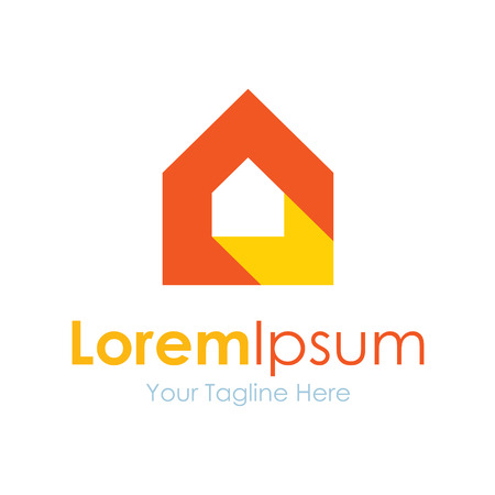 simple logo: Shine up your home icon simple elements