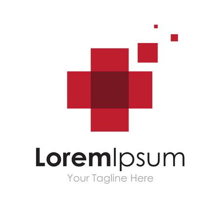 medizin logo: Hilfe Pflege Kinder in Not icon einfache Elemente