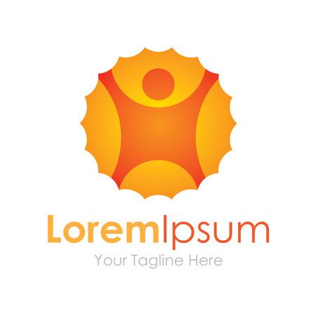 carpe diem: Catch the day beautiful sun concept elements icon