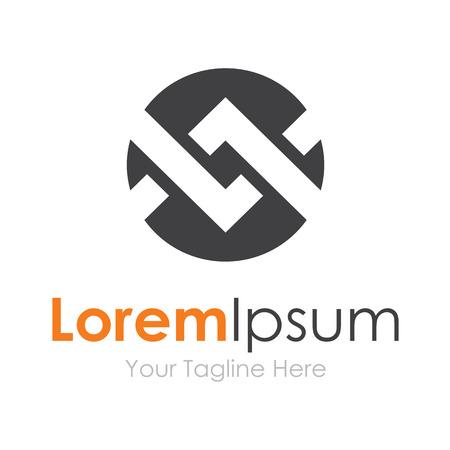 Keten band loopvlak concept van elementen partnerschap icoon
