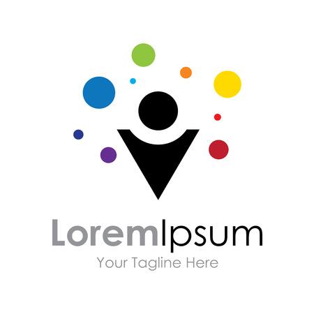 pop up: Creatieve pop up kleurrijke ideeën begrip elementen pictogram Stock Illustratie