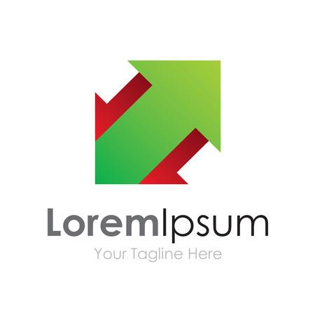 Fail learn win green success arrow concept elements icon