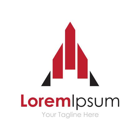 logo marketing: Rocket ship exploring new limits concept elements icon