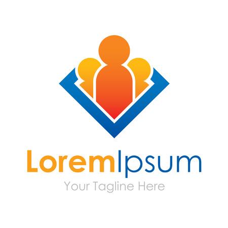 leader: Grupo l�der Humano negocio Iconos del elemento de futuro