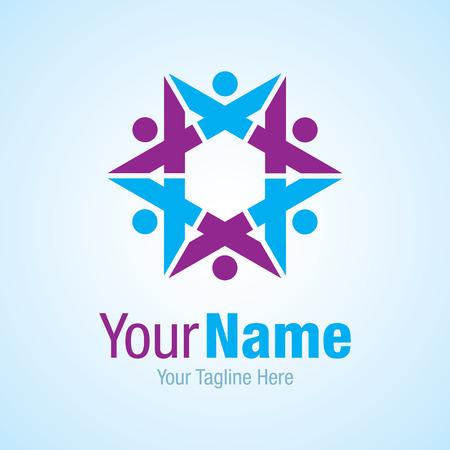Star prime partnership graphic design  icon