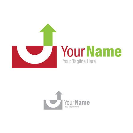 turnaround: From failure to success turnaround simple business icon logo