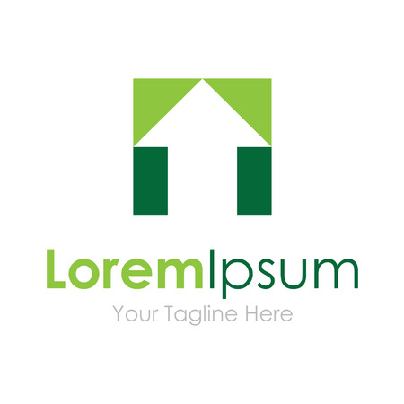 toned: Two toned arrow up projection simple business icon